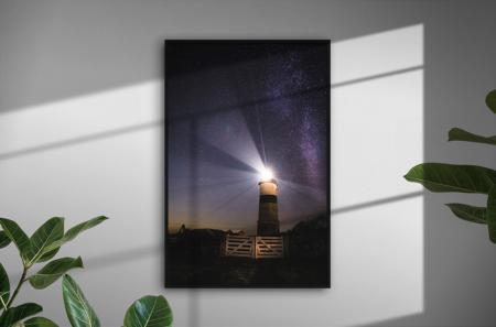 Vintergatan över Morups Tånge