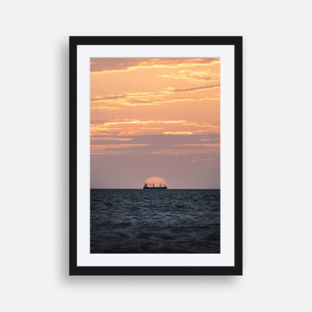 Anchored at Sunset